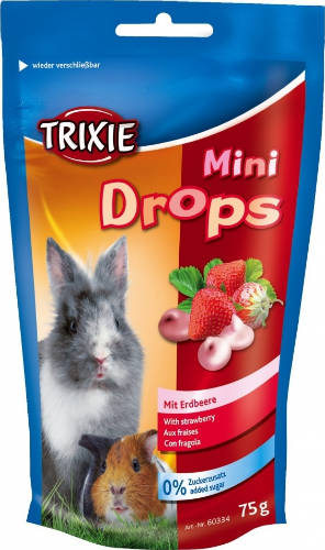 Trixie Mini Drops epres 75g