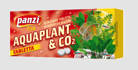 Panzi Aquaplant & CO2 tabletta (10db)